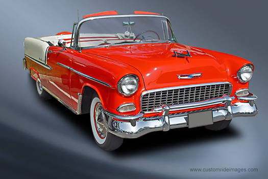 Chevy Bel Air 1955 Convertible pictures - Hot Rod Cars