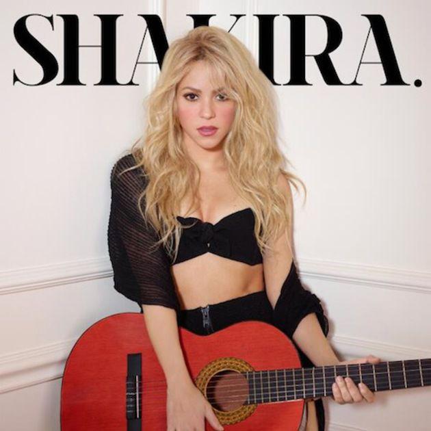 Foto Seksi Shakira Untuk Album Terbaru