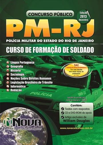 Apostila Concurso Polícia Militar Rio de Janeiro CFSd/PMERJ-2014 Curso de Formação de Soldados
