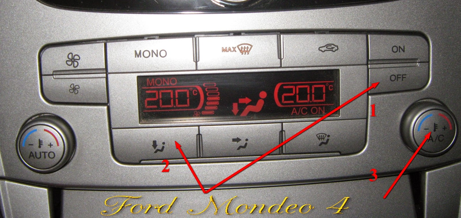 климат контроль форд мондео 4 #10