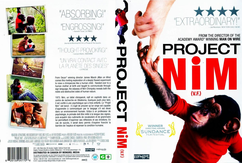 Projeto Nim DVDRip XviD Dublado Project Nim   English French f