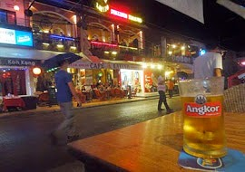 Pub Street at Siem Reap