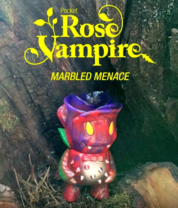 Super7 - Marbled Menace Pocket Rose Vampire by Joshua Herbolsheimer