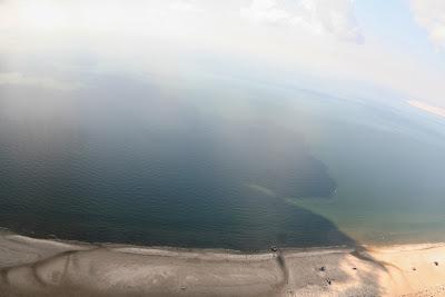 St. Peter-Ording: Fotos eines Tandem-Fallschirmabsprunges über dem ordinger Strand 38