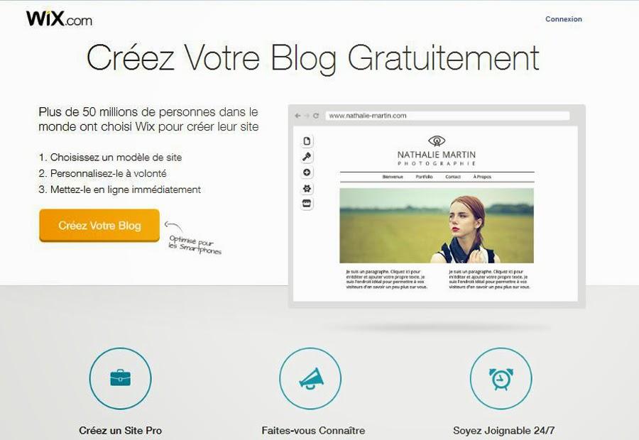Créer un blog gratuit sans compétences informatiques avec Wix.