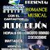 Julio Rejón se presentará en Plaza Sendero