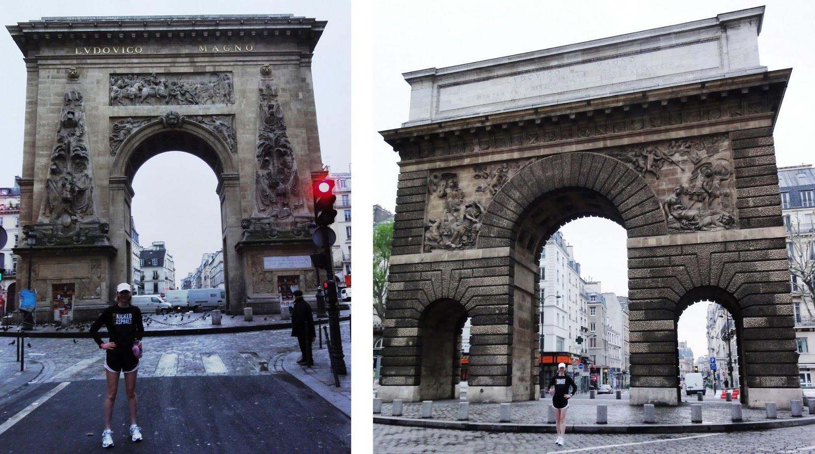 Four mornings to explore paris with sarah paris running for Porte saint martin