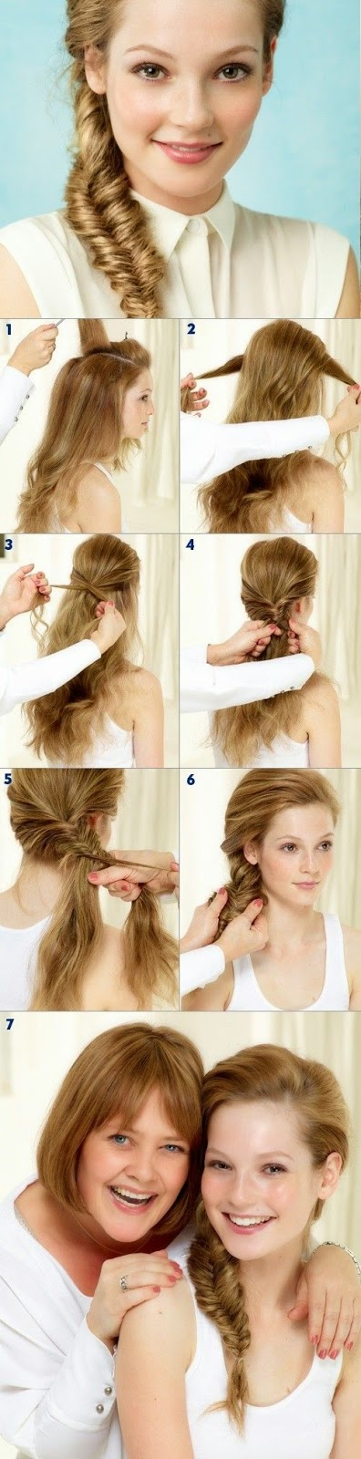 Cara Menata Rambut Panjan Ala Tight Side Braid