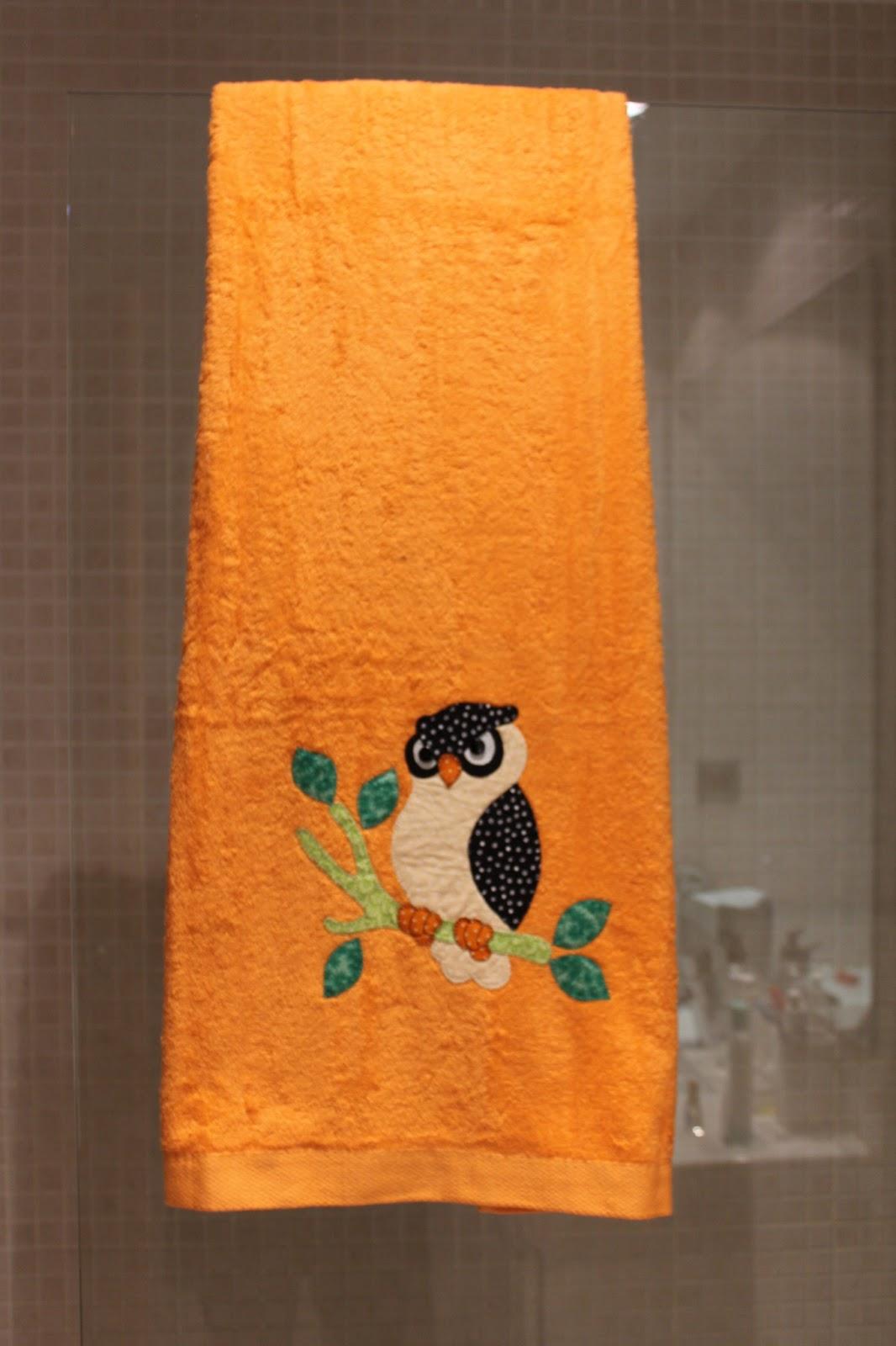 Mi hogar de patchwork toallas de patchwork con buhos for Fotos de patchwork