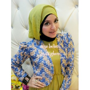 Blue BOLERO ROSE ROSEBEL MARGHON