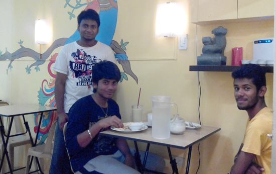 Indian Diners at Curry Express, Davao City