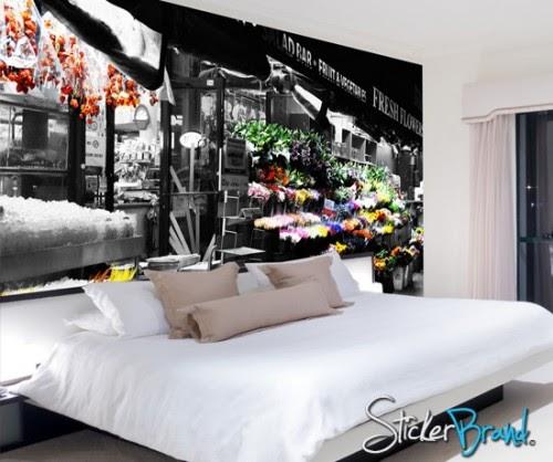 Dormitorios con murales de Murales para recamaras matrimoniales
