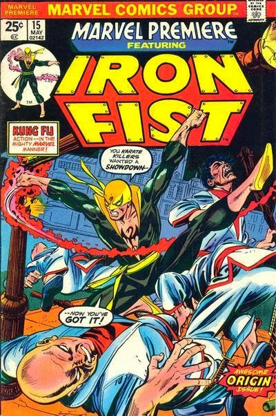 Marvel Premiere 15 comic cover
