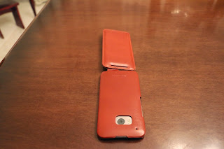 Foto 5 cover HTC One M9 StilGut in pelle cognac