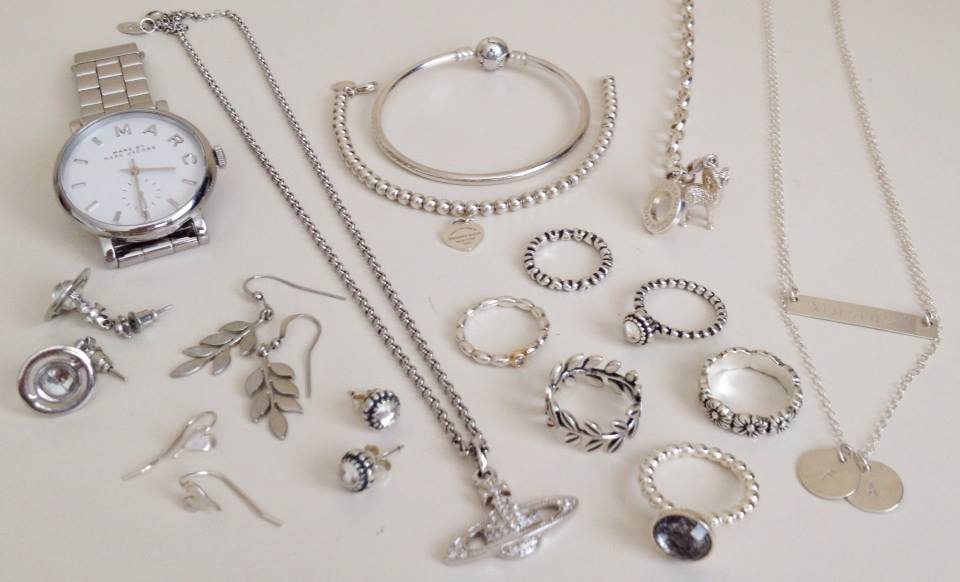 That Everyday Girl xo: My Silver Jewellery Collection.