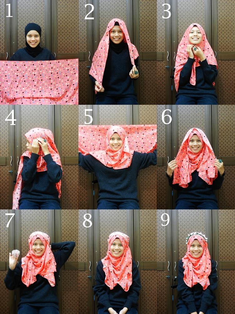ARCG's 1st Hijab Tutorial