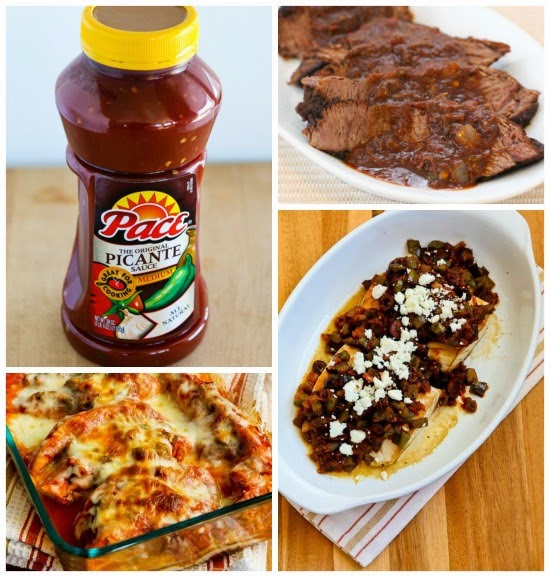 Kalyn's Kitchen Picks: Pace Picante Sauce (and 5 Favorite Recipes Using Pace Picante Sauce) found on KalynsKitchen.com