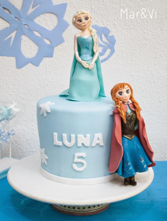 Torta di compleanno di Frozen