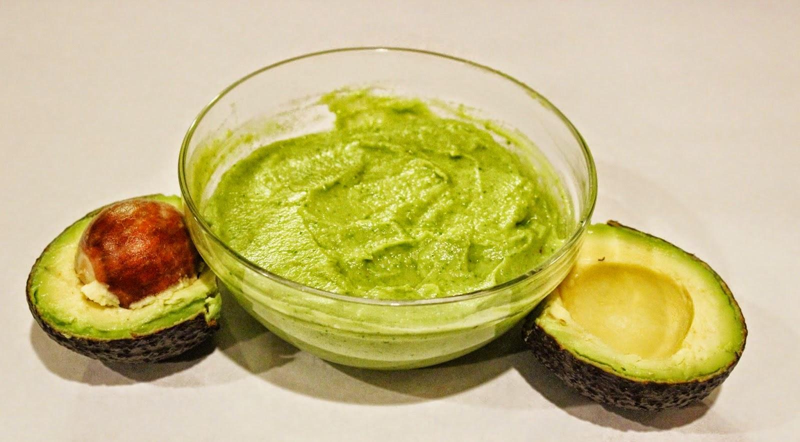 avocado guacamole/ chutney