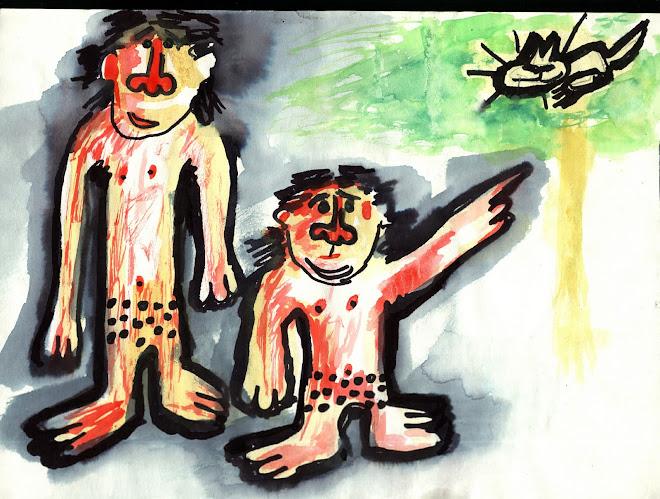 O  Gato - 2001 - Ilustrações de Estela Lopes, projectadas durante o decurso da apresentação
