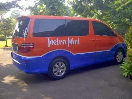 mobil alphard metro mini