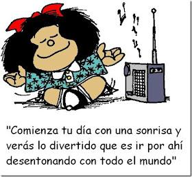Pay attention to Mafalda