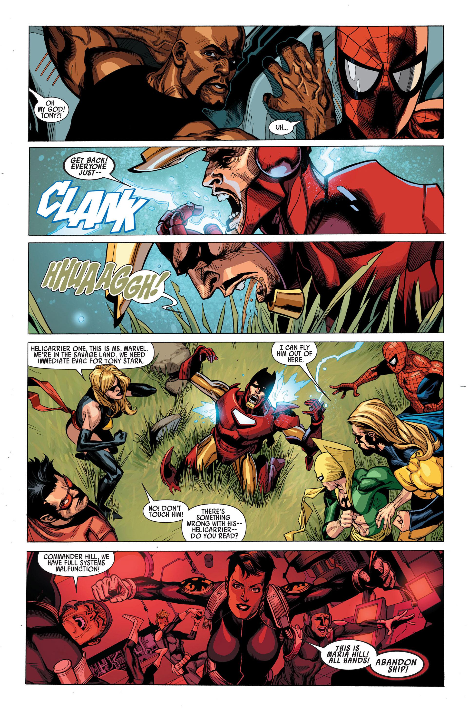 Read online Secret Invasion comic -  Issue #1 - 21