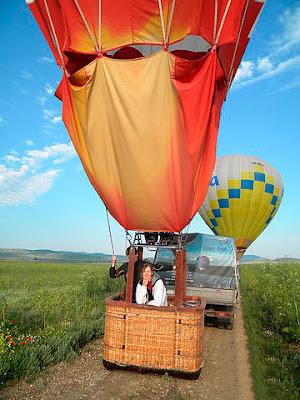 Vozdushnye progulki na sharah v Simferopole i okrestnostjah