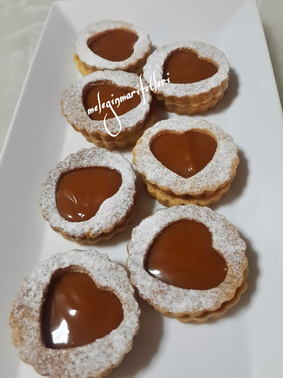 karamelli kurabiye