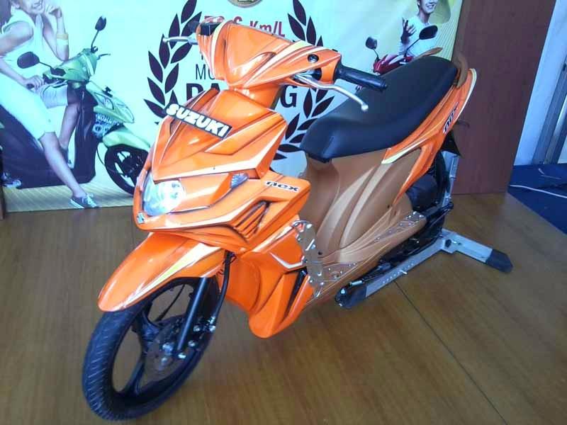 Motor Suzuki Nex Modifikasi Elegant