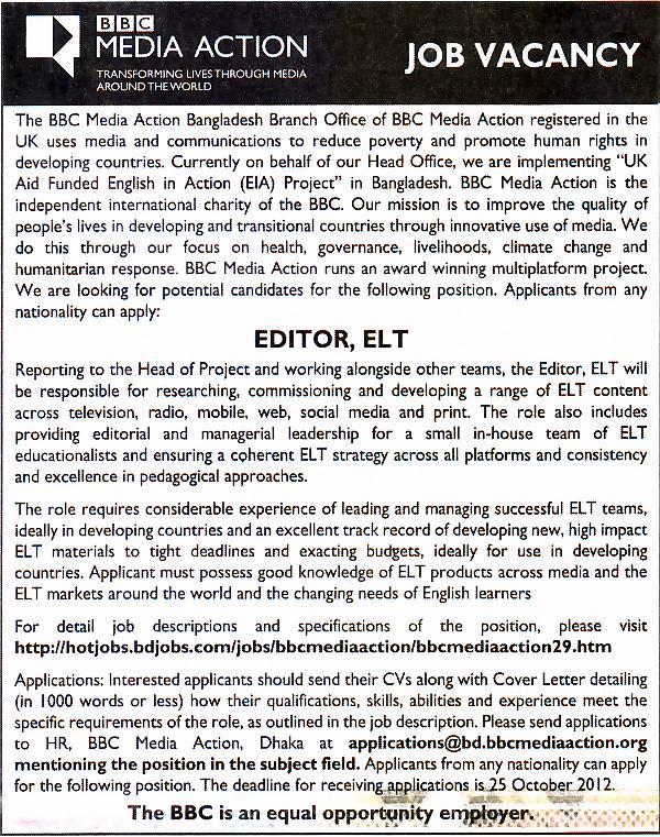 Editor Jobs