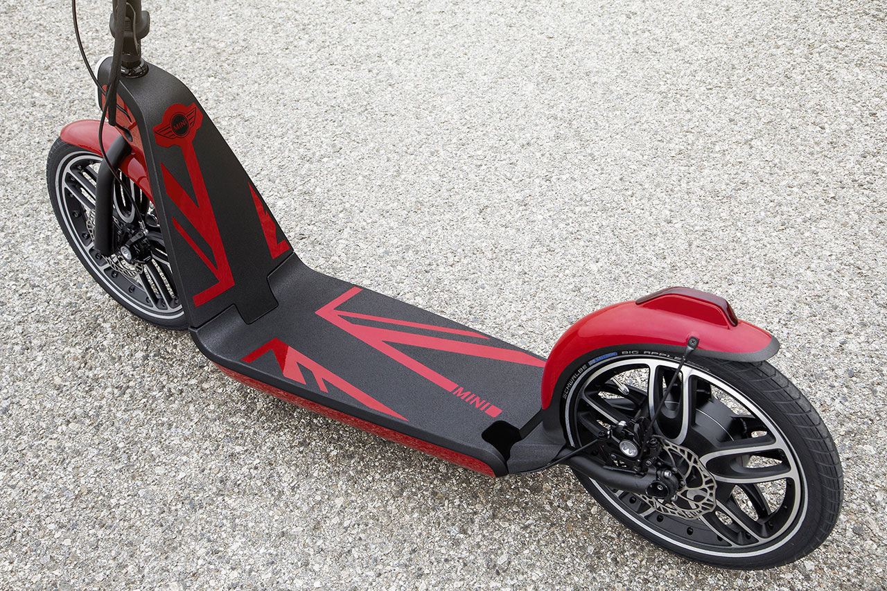 The Mini Citysurfer Electric Scooter Concept deatil