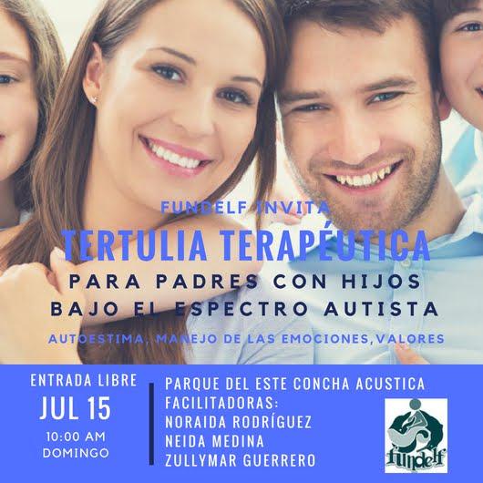 TERTULIA TERAPEUTICA                          15 DE JULIO 2018