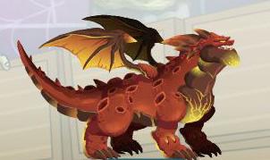 imagen del dragon meteoro
