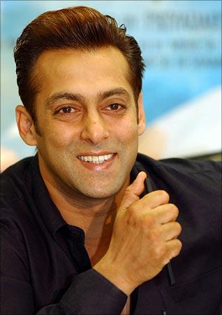 Salman khan in being human t shirt 2012