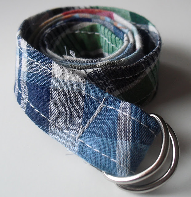DIY Boys Belt Sewing