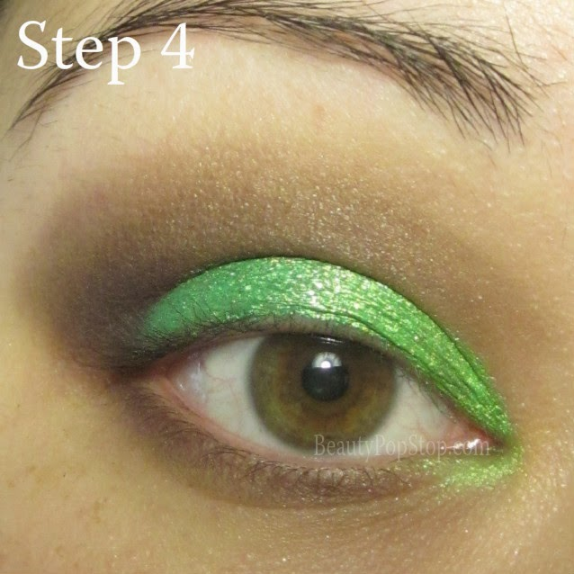 st patrick's day makeup tutorial using mufe 172