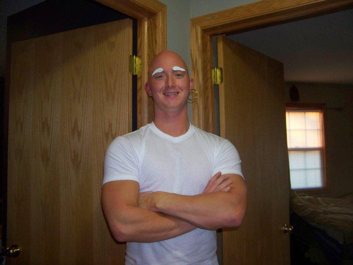 halloween costumes for bald guys