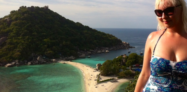 Koh Nangyuan eco island view