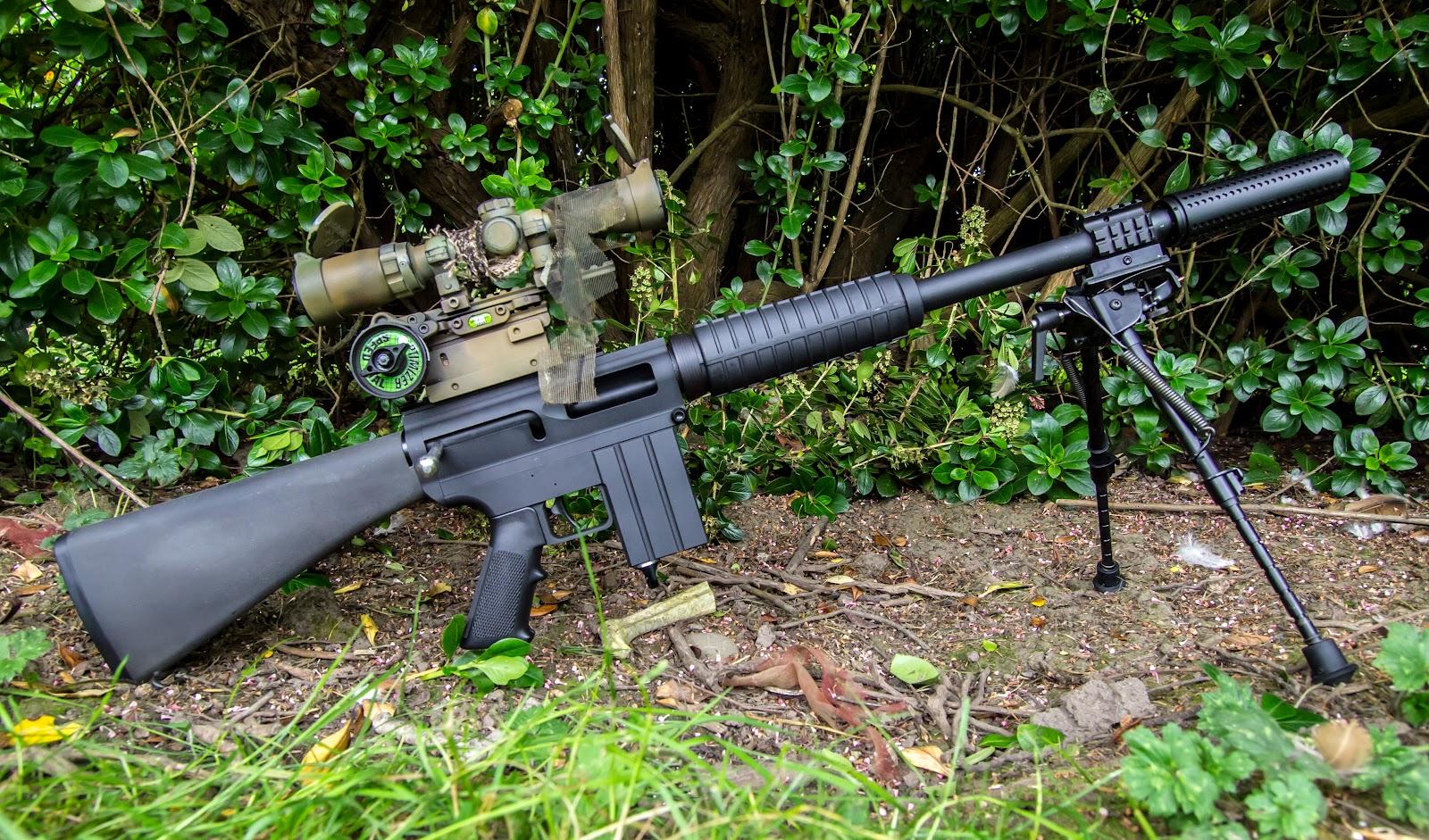 Paintball guns rifle