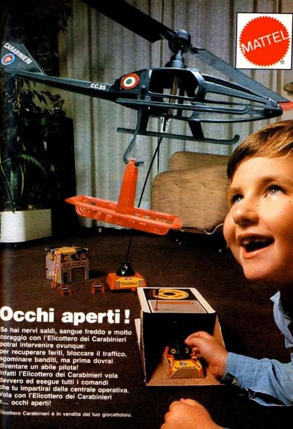 Elicottero Carabinieri Mattel