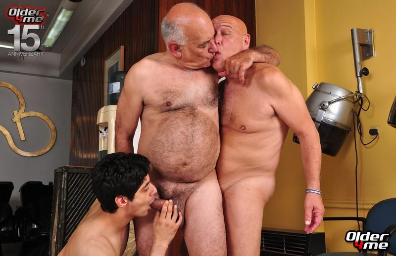 silver daddies blog -  older gay men having sex