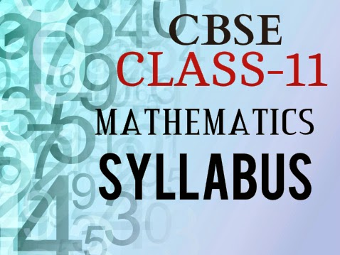 cbse mathematics class11 syllabus