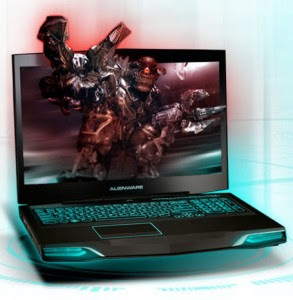 Laptops Alienware ads Klipsch to M17x