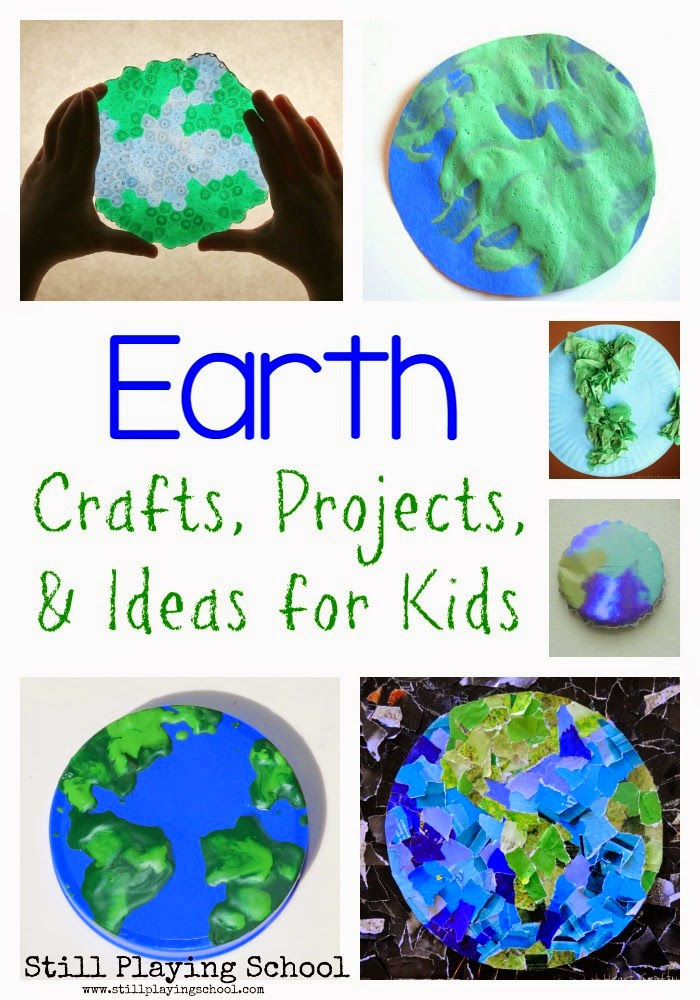 Earth Day Craft Ideas For Kids Part - 17: We Have The Best Earth Crafts And Ideas For You To Try With Your Children!