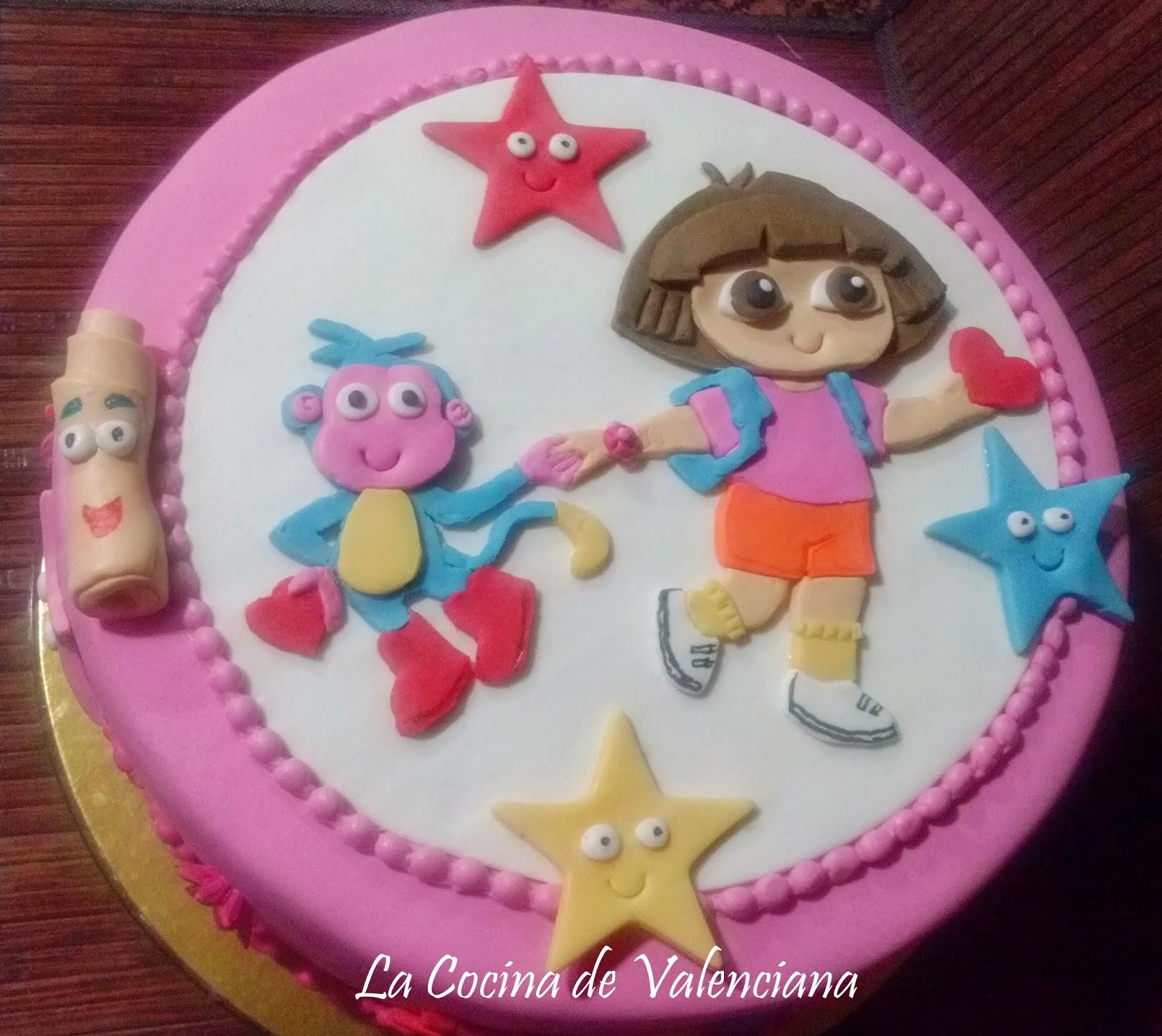La cocina de valenciana mi segunda tarta fondat dora la exploradora - Dora la exploradora cocina ...