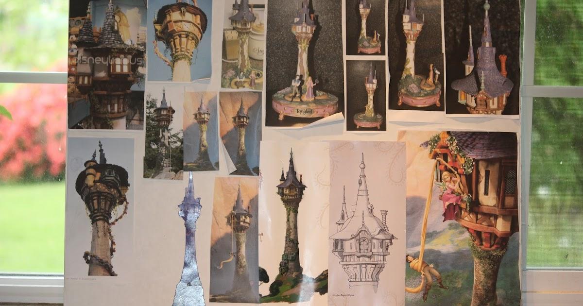 Cake Art Kirkland Wa : Whimsical by Design: The Best Rapunzel Tower Cake