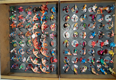 Zombicide, zombies, painted, base, sally 4th, complete, abomination, walker