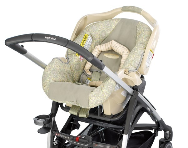 Dual Baby Stroller With Car Seat