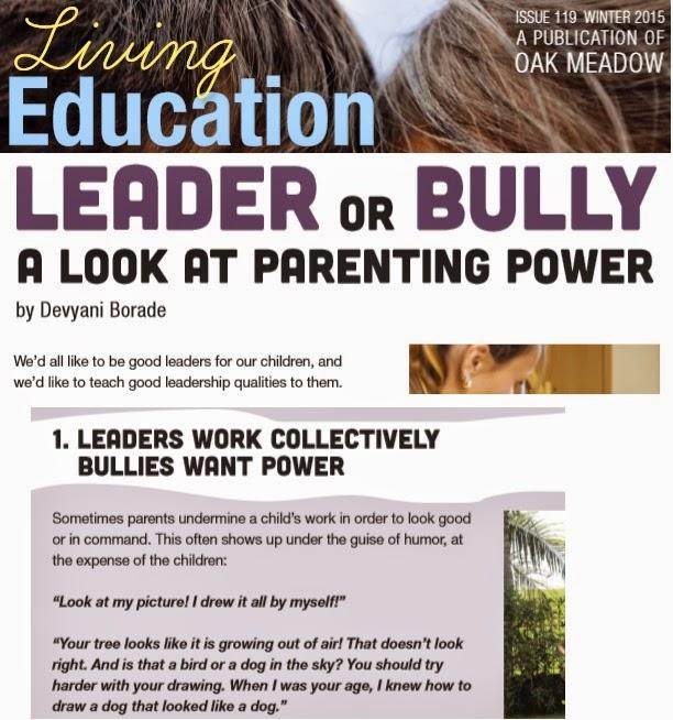 Verbolatry - Devyani Borade - Leader or bully - Living Education